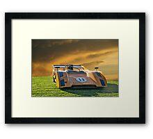 1971 McLaren M8E/Can Am Framed Print