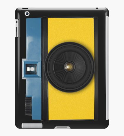 retro camera collection iPad Case/Skin