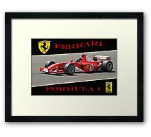 Ferrari Formula 1 Competition  Framed Print