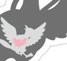 PKMN Silhouette - Pidove Family Sticker