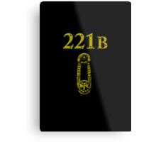 221B Baker Street Metal Print