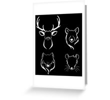 The Marauders  Greeting Card