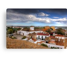 Across The Rooftops Canvas Print