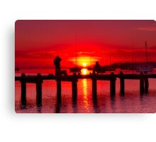 """Dock Of The Bay"" Canvas Print"