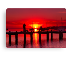 """""""Dock Of The Bay"""" Canvas Print"""