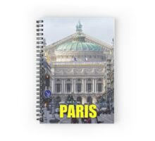 Stunning! Paris Opera House Spiral Notebook