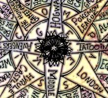 Geek Compass Sticker