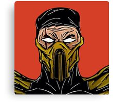 Mortal Kombat's Scorpion Canvas Print