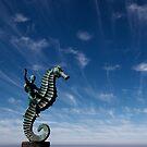 Boy on Seahorse by Chris Prior