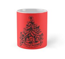 Christmas Carolers with Tree Mug