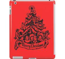 Christmas Carolers with Tree iPad Case/Skin
