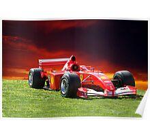 2001 Ferrari Formula 1 (F1) Poster