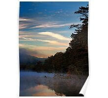 Dawn At Beavers Bend Poster
