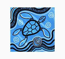 Authentic Aboriginal Art - Turtle Classic T-Shirt