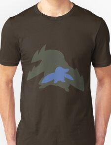 PKMN Silhouette - Drilbur Family Unisex T-Shirt