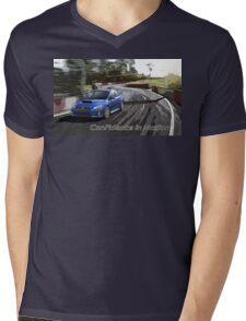 subaru Mens V-Neck T-Shirt