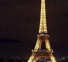 Eiffel Tower, Paris, France by MelissaSue