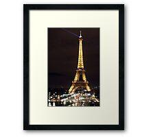Eiffel Tower, Paris, France Framed Print