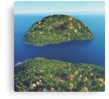 Imaginary Island Canvas Print