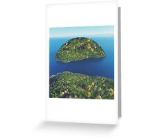 Imaginary Island Greeting Card
