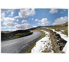 Snø over Kirkstone Pass Poster