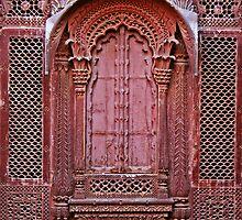 Indian Door iPad Case by pennyswork