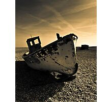Dungeness  fishing boat  Photographic Print