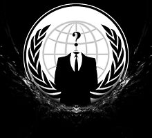 Anonymous Logo by Lutubert