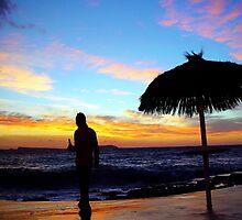 Beautiful IBIZA Sunset and Beer by Hungaro