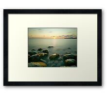Beautiful IBIZA  Mysterious Sunset Cap d´es Falco Framed Print