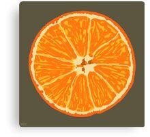 orange brown Canvas Print