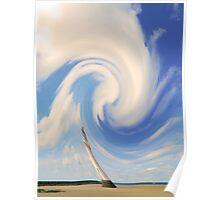 Cotton Cloud Lighthouse Poster