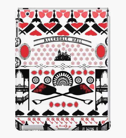 Crimson Peak Ugly Sweater Pattern iPad Case/Skin