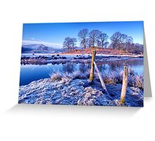 The River Brathay - The Lake District. Greeting Card