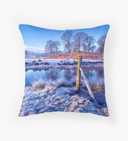 The River Brathay - The Lake District. Throw Pillow