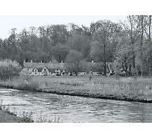 Early Spring in England Black and White Photographic Print