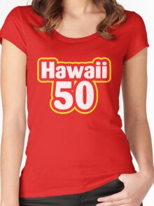 Hawaii 50 Women's Fitted Scoop T-Shirt