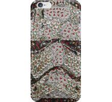The Silver Trooper Captain - Bottle Cap Mosaic iPhone Case/Skin