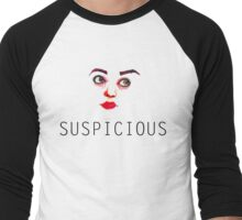 Suspicious Men's Baseball ¾ T-Shirt