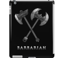 Barbarian Axes  iPad Case/Skin