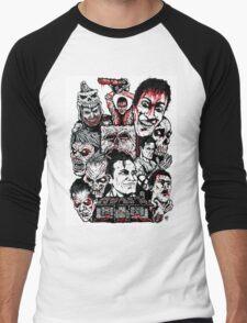 Evil Dead Trilogy Men's Baseball ¾ T-Shirt