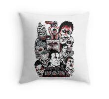 Evil Dead Trilogy Throw Pillow