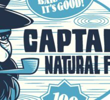 Captain's Fish Oil Sticker