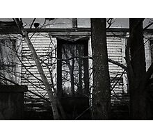 Abandoned home Photographic Print