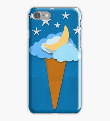ice cream design by weather icon iPhone Case/Skin