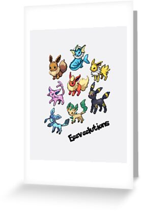 Eeeveelutions by ThatGingerSheep