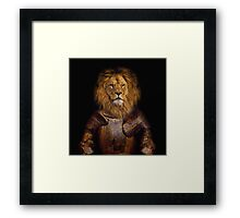 Leo The Lionheart Framed Print