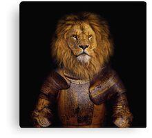 Leo The Lionheart Canvas Print