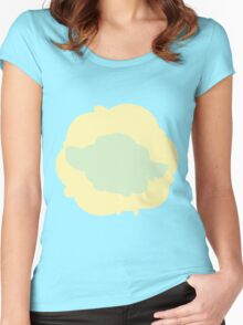 PKMN Silhouette - Cottonee Family Women's Fitted Scoop T-Shirt