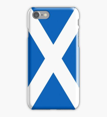 Flag of Scotland - High quality authentic version iPhone Case/Skin